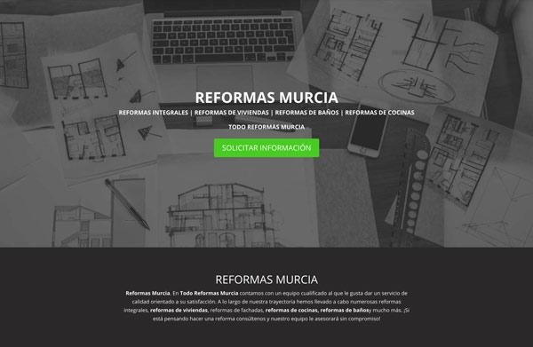 Diseño Web Reformas Murcia